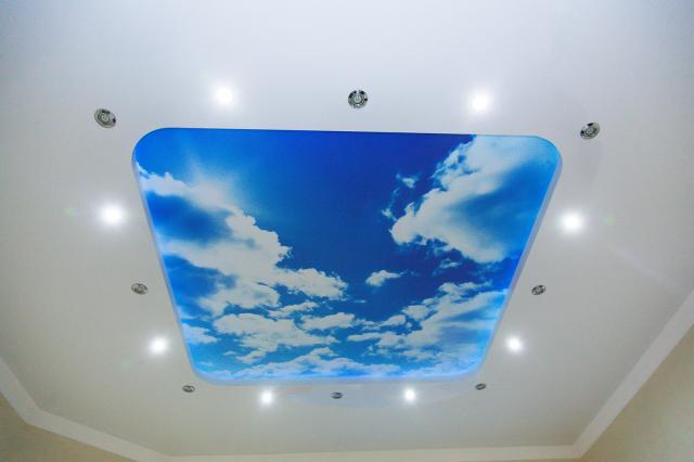 Badkamer Plafond Afsteken : Spando spanplafonds u e de expert in spanplafonds